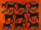 Untitled (Bhil Painting) - Lado  Bai - Winter Online Auction: Modern and Contemporary South Asian Art and Collectibles