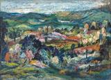 Untitled (Landscape) - K H Ara - Spring Live Auction | Modern Indian Art