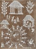 Untitled (Warli) - Jivya Soma Mashe - Winter Online Auction: Modern and Contemporary South Asian Art and Collectibles