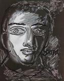 Untitled (Head) - F N Souza - Winter Live Auction: Modern Indian Art