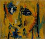 Untitled (Head) - P T Reddy - Winter Online Auction: Modern and Contemporary South Asian Art and Collectibles