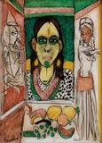 Untitled - K G Subramanyan - Creative Circuit: The Art of K G Subramanyan