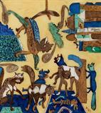 Lami Town - K G Subramanyan - Creative Circuit: The Art of K G Subramanyan