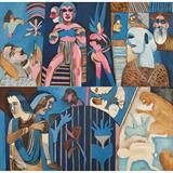 The Bombay Altarpiece - K G Subramanyan - Summer Online Auction