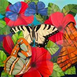 Butterflies - Senaka  Senanayake - REDiscovery: Auction of Art and Collectibles