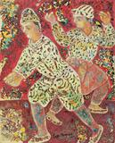 Twilight Dancer - Sakti  Burman - REDiscovery: Auction of Art and Collectibles