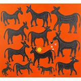 Untitled (Gond Art) - Lado  Bai - REDiscovery: Auction of Art and Collectibles