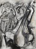 Finale to a Thumri - Krishen  Khanna - Winter Live Auction: Modern Indian Art