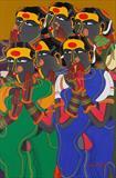 Untitled - Thota  Vaikuntam - ALive: Evening Sale of Modern and Contemporary Art
