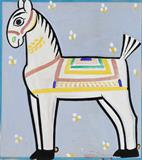 Untitled (Horse) - Jamini  Roy - Winter Online Auction: Modern and Contemporary South Asian Art and Collectibles