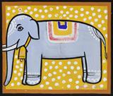 Untitled (Elephant) - Jamini  Roy - ALive: Evening Sale of Modern and Contemporary Art