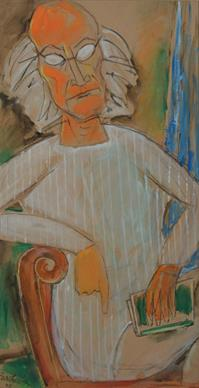 Untitled-Self Portrait