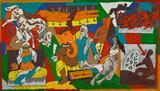 Untitled (Mahabharat) - M F Husain - ALive: Evening Sale of Modern and Contemporary Art