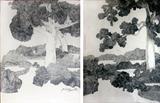 K Laxma  Goud-Untitled (Diptych)