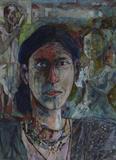 K Laxma  Goud-Untitled