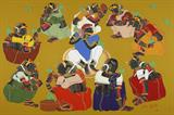 Untitled - Thota  Vaikuntam - Winter Live Auction: Modern Indian Art