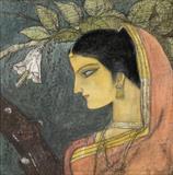 Untitled - Ganesh  Pyne - Winter Live Auction: Modern Indian Art