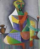 Untitled - Paritosh  Sen - Spring Online Auction