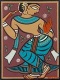 Untitled - Jamini  Roy - The Curated Auction Series