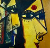 Untitled - Paresh  Maity - Art Rises for India: A Covid-19 Relief Fundraiser Auction by the Indian Art Community