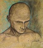 Untitled - Asit Kumar Patnaik - Art Rises for India: A Covid-19 Relief Fundraiser Auction by the Indian Art Community