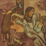 Mother and Child - K G Subramanyan - Summer Live Auction