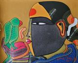Untitled - Thota  Vaikuntam - Art Rises for India: A Covid-19 Relief Fundraiser Auction by the Indian Art Community
