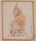 Hanuman - Ganesh  Pyne - Summer Live Auction