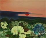 Maite  Delteil-Red Sunset