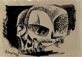 K M Adimoolam-Human skull study - I