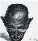 K M Adimoolam-Gandhi