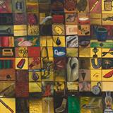 The Magic Square - Surendran  Nair - Modern and Contemporary South Asian Art and Collectibles